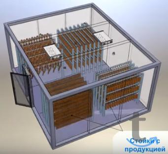 Холодильные камеры сборные