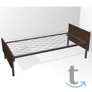 Кровати металлические односпальные
