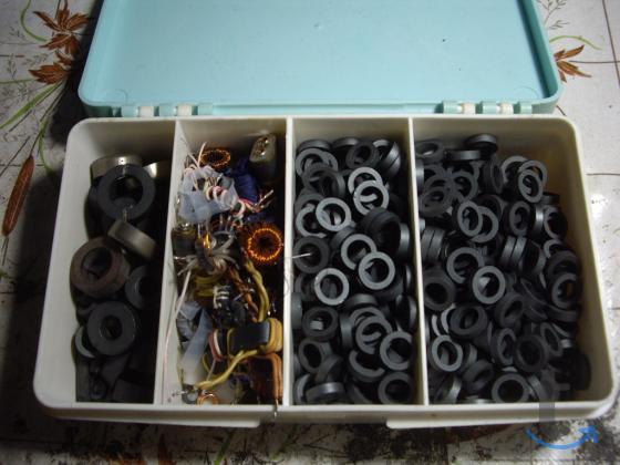 Ферритовые кольца для радиолюбителей