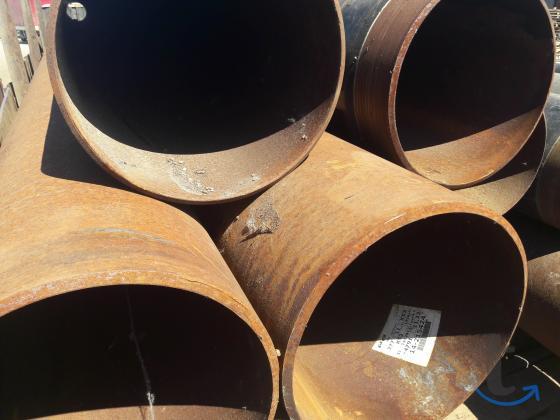 Труба лежалая 377х10-11 прямошовная К52