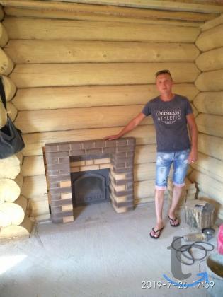 Печник Уфа.Строительство банных печей из кирпича