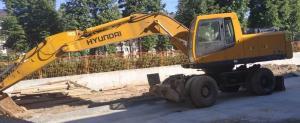 Продам экскаватор Хундай Hyundai R200W-7 в городеУфа