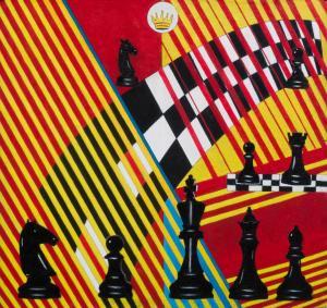 Шахматы в живописи № 5