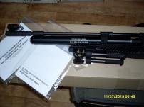 Пневматическая РСР винтовка МР-555К.