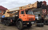 Продам автокран Галичанин;гр/п25 тн;28м;вездеходКАМАЗ