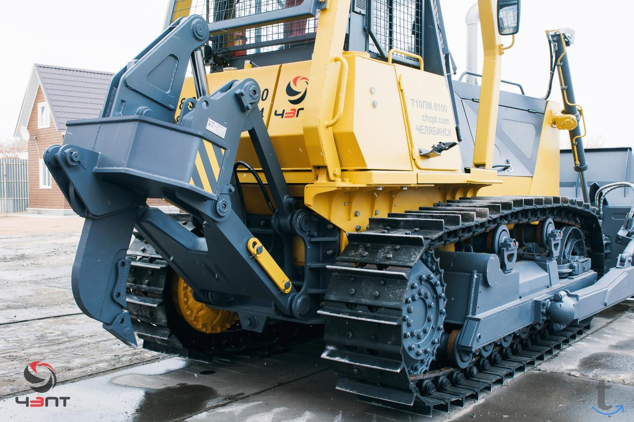 Новый бульдозер Б10ПМ производст...
