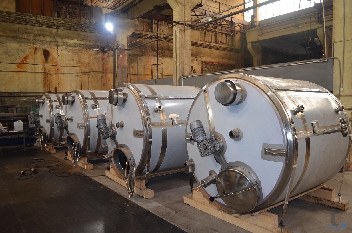 Емкости, реакторы, ферментёры 10...