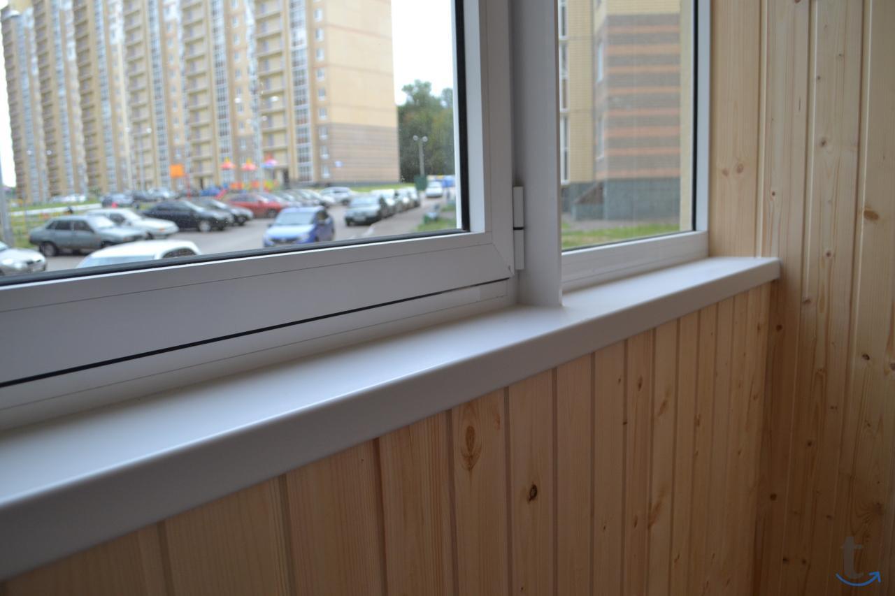 балкон - обшить и утеплить в Чеб...