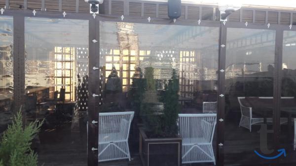 Защитные шторы для беседки, веранды, террасы
