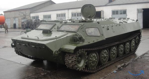МТЛБ в городеЧелябинск