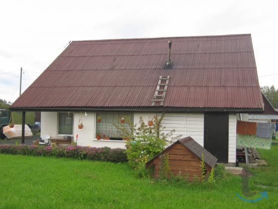 Дом с участком в 17 км от города Петрозаводска