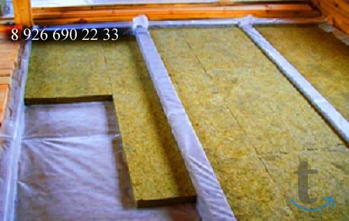 Замена пола на даче