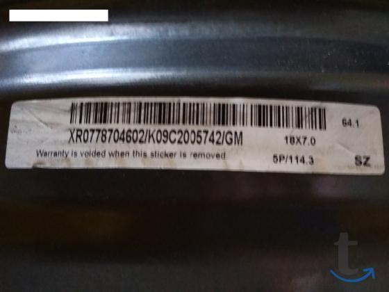 Продам литые диски 18 на Хонду