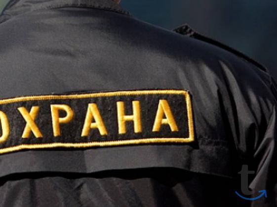 Охранники вахта север в городеУфа