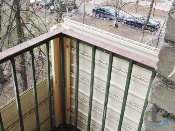 Отделка балконов лоджий.