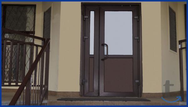 Двери для магазина и кафе