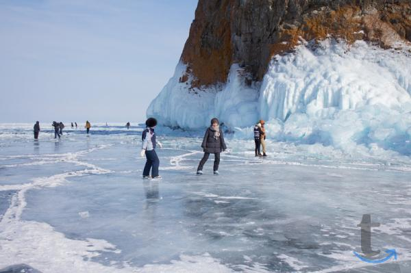Зимний тур на Байкал: Листв...