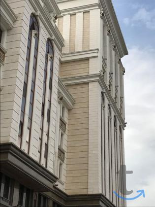 плитка белый известняк лаймстоун для фасадов и внутрянки