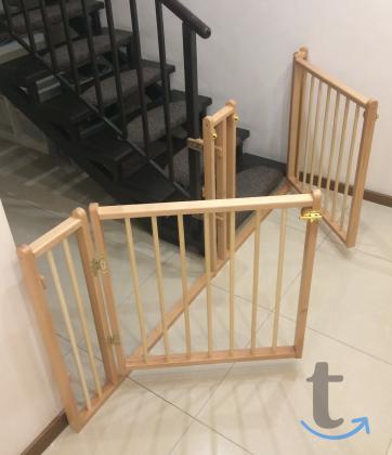 Деревянное ограждение, барьер, заборчик для лестниц,