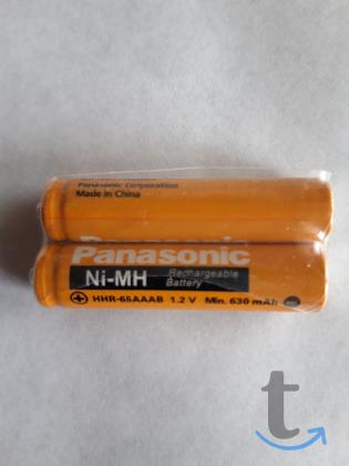 Аккумуляторы AAA Panasonic HHR-6...