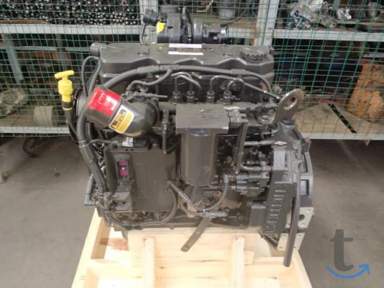 Двигатель Cummins QSB4.5 Ев...