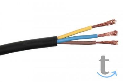 Провод соединительный ПВС черный 3х2,5