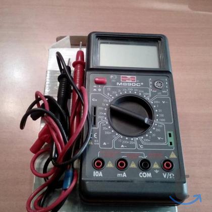 Мультиметр цифровой M890G+ ... в городеТольятти