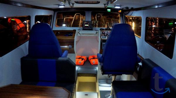Новый скоростной морской катер Б...