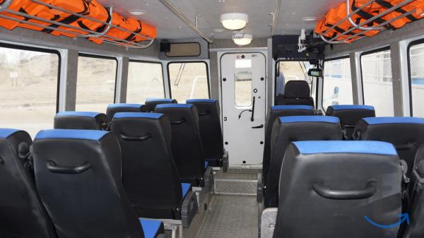 Пассажирский катер Баренц 9000