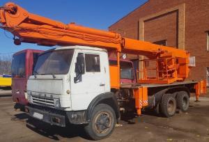 Продам автовышку телескопическую АПТ-35, КАМАЗ-... в городеВоронеж