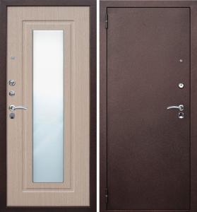 Входная стальная дверь  с зеркалом  | Мир Окон ... в городеЧебоксары