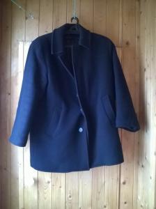 Пальто чёрное в городеЯрославль