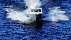 Морской водометный катер Ба...