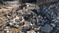 Битый кирпич, бой бетона,асфальтная крошка и др