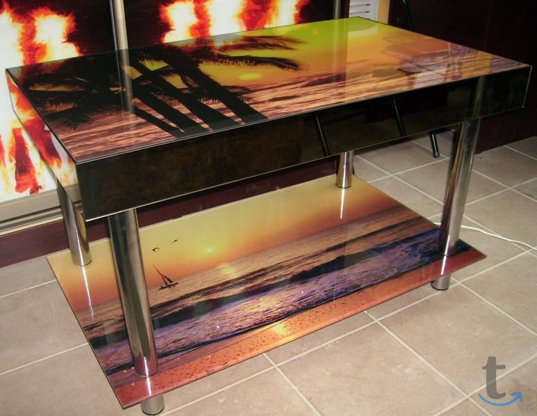 Стеклянные столы под заказ. Ремо...