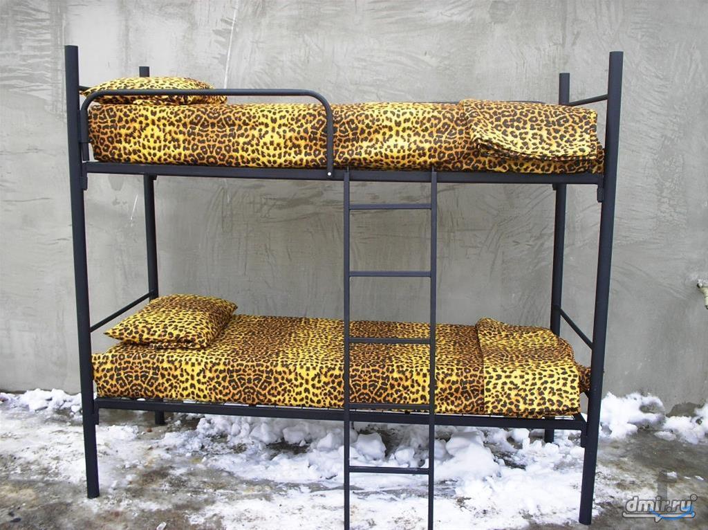 Кровати из металла в разных моди...