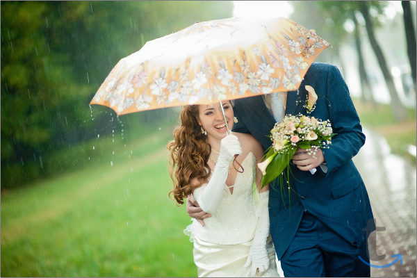 Свадьба - осенью в Томске, ... в городеТомск