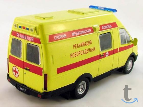 Автомобиль на службе №40 Семар-3234