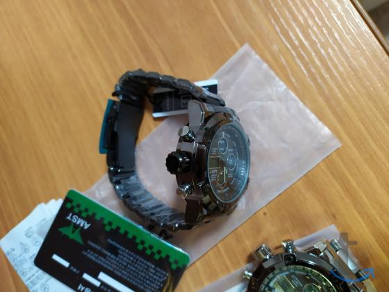 Часы АМСТ металлический браслет