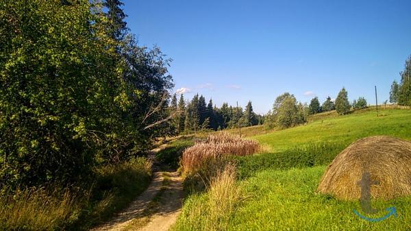 Высоко расположенный живописный хутор, 1,5 Га. земли