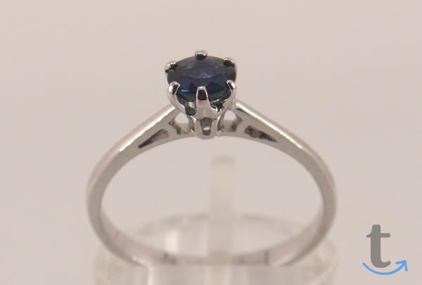 Золотое кольцо с синим не г... в городеМосква