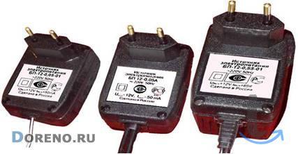 Сетевые адаптеры (Источники электропитания).