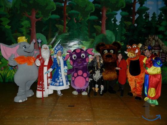 Детские праздники,контактный зоопарк(выездной),