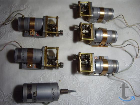 Коллекторный электродвигатель постоянного тока ДПМ-25
