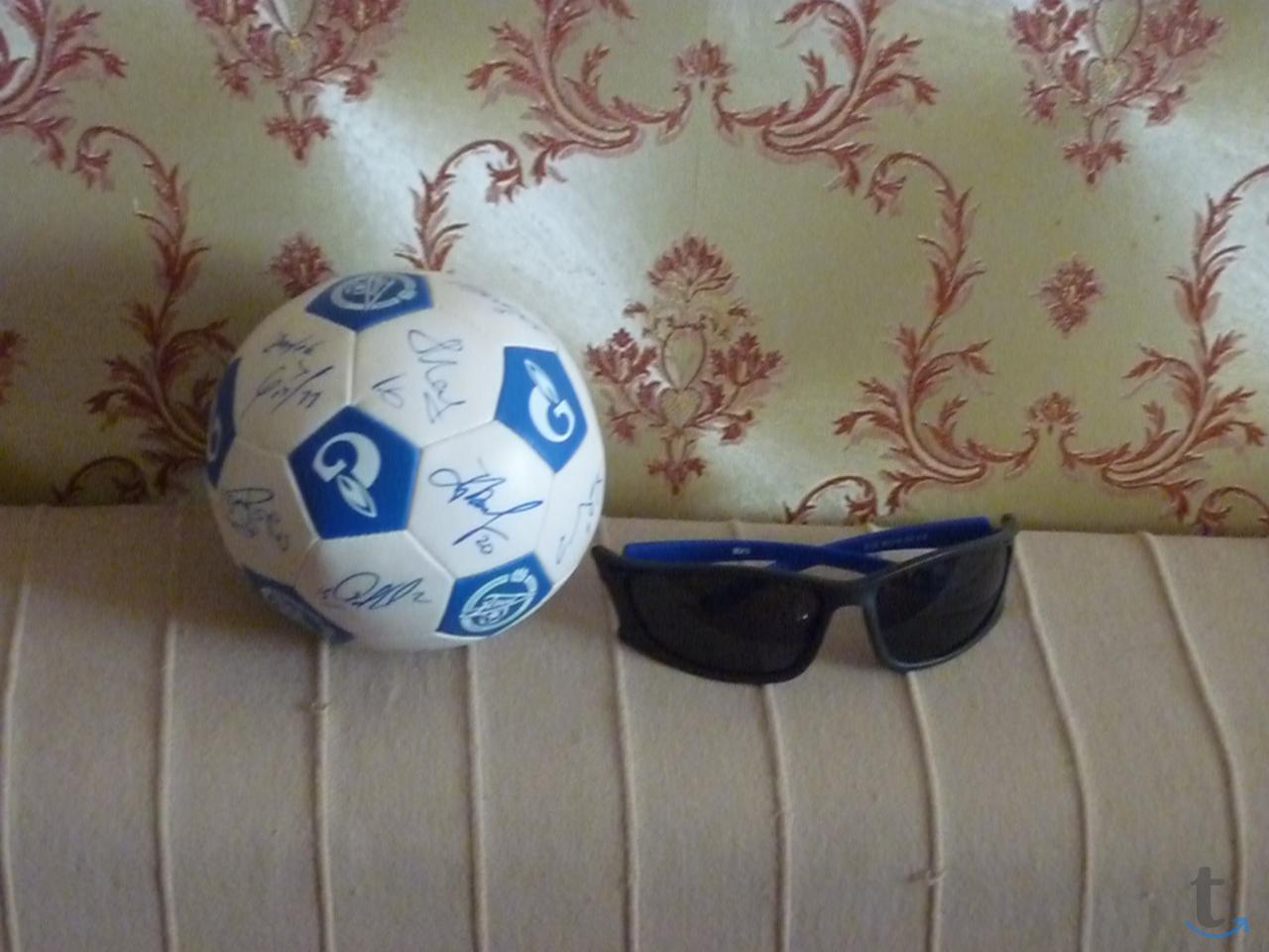 Мячик малый «Зенит» с автографами