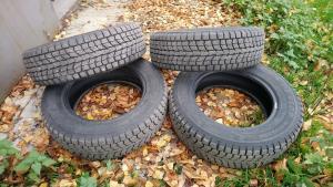 4 зимние шины на 16 Dunlop ...