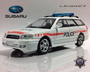 Полицейские машины мира №58...