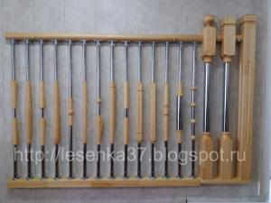 Комбинированные балясины из... в городеВладимир