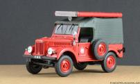 Автомобиль на службе №3 Газ-69 ПМГ-20