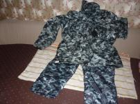 зимний костюм «Город» цвета хаки